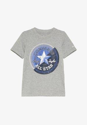 GALACTIC CHUCK PATCH TEE - T-shirt con stampa - dark grey heather