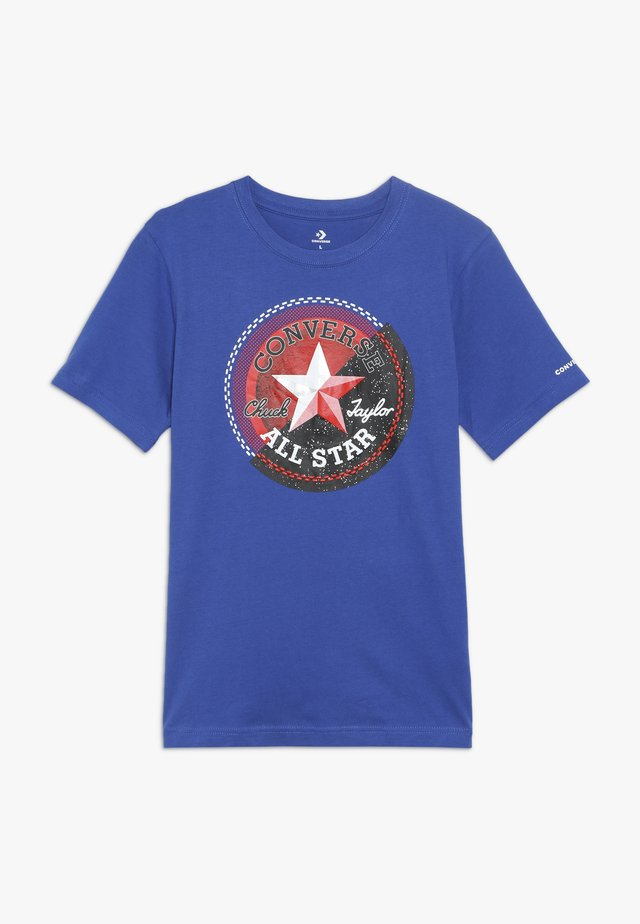 GALACTIC CHUCK PATCH TEE - T-shirt print - blue