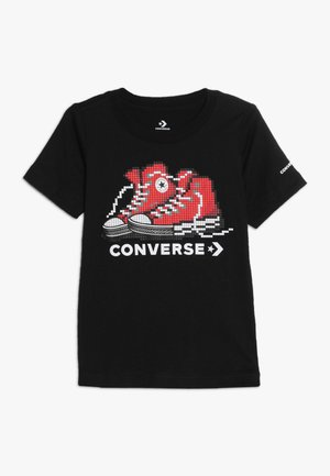 PIXEL CHUCK 2.0 TEE - T-shirt con stampa - black