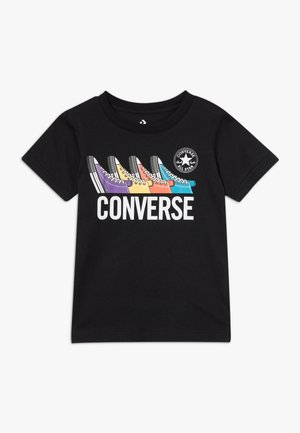 MULTI TEE - T-shirts med print - black