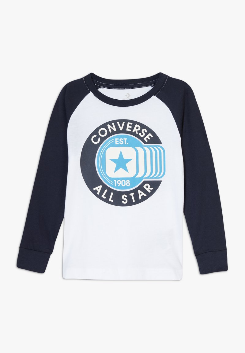 Converse - CLASSIC ALL STAR RAGLAN TEE - Long sleeved top - white
