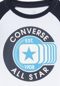 Converse - CLASSIC ALL STAR RAGLAN TEE - Camiseta de manga larga - white - 3