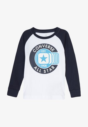 CLASSIC ALL STAR RAGLAN TEE - Topper langermet - white