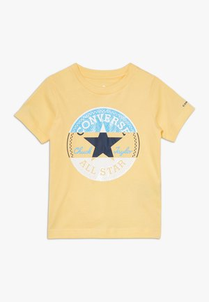 CHUCK PATCH TRIPLE SPLIT TEE - Print T-shirt - topaz gold