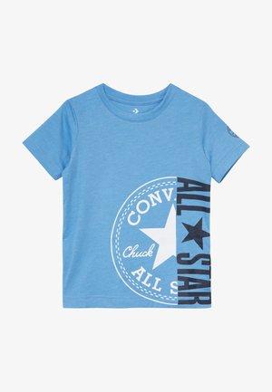 CHUCK PATCH ALL STAR SPLIT TEE - T-shirt imprimé - coast heather