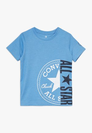 CHUCK PATCH ALL STAR SPLIT TEE - T-shirts med print - coast heather