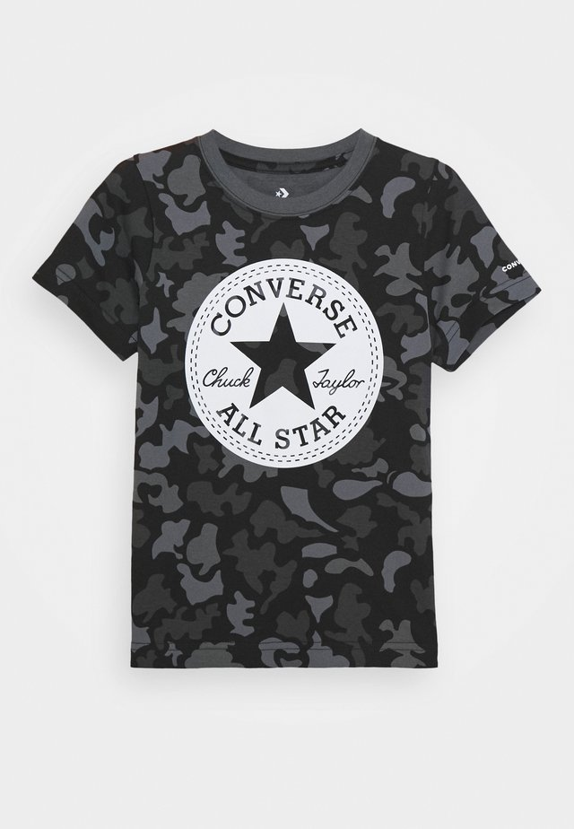 CAMO TEE - Camiseta estampada - black