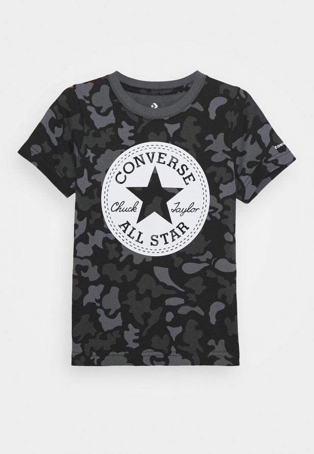 CAMO TEE - T-shirt med print - black