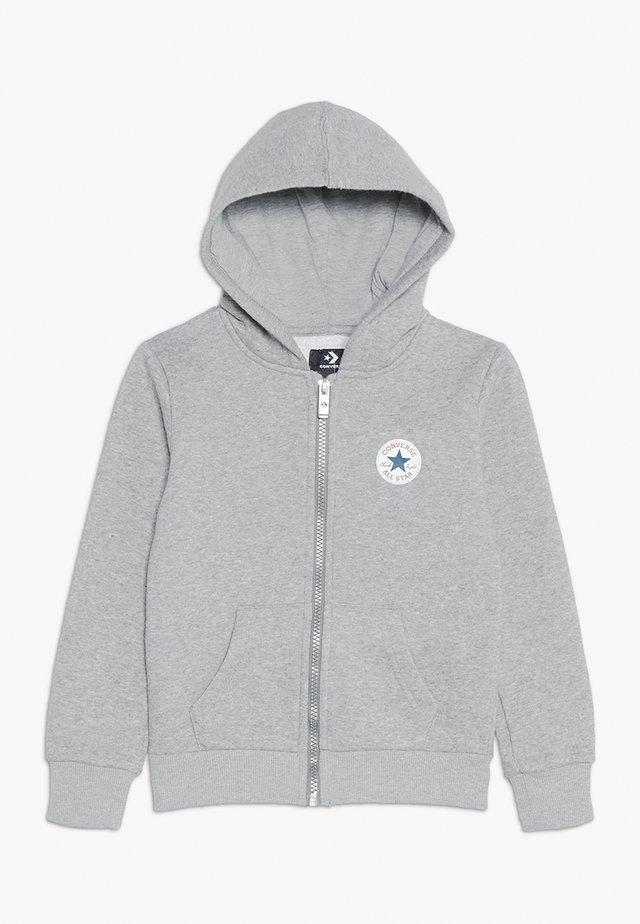 CHUCK PATCH FULL ZIP HOODIE  - Zip-up hoodie - dark grey heather