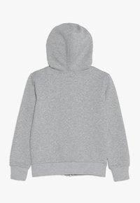 Converse - CHUCK PATCH FULL ZIP HOODIE  - Mikina na zip - dark grey heather - 1
