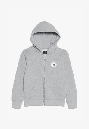 CHUCK PATCH FULL ZIP HOODIE  - Zip-up hoodie - dark grey heather