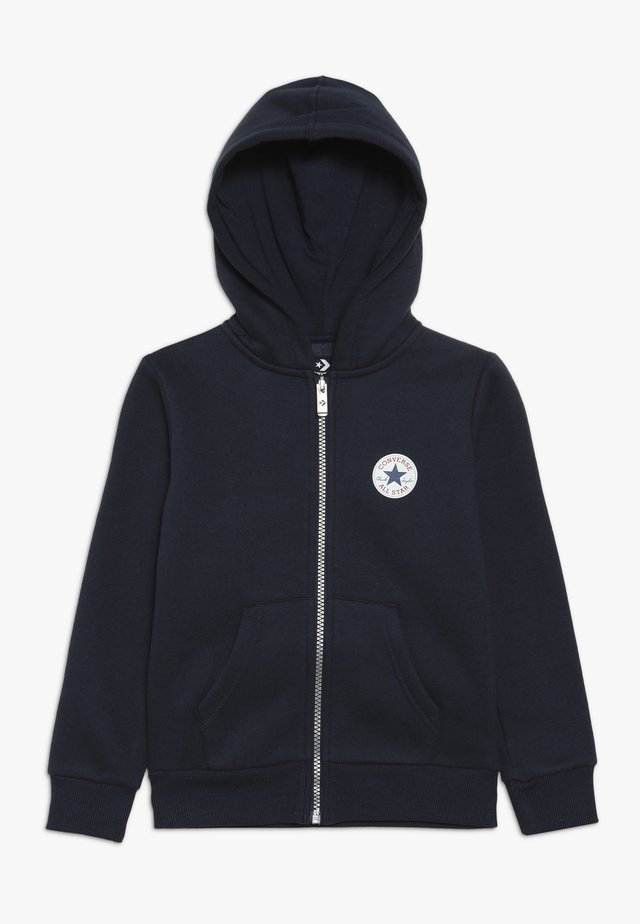 CHUCK PATCH FULL ZIP HOODIE  - Zip-up hoodie - obsidian