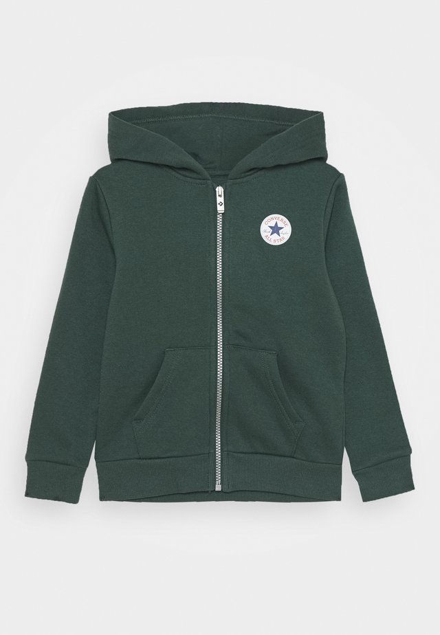 CHUCK PATCH FULL ZIP HOODIE  - Sudadera con cremallera - faded spruce