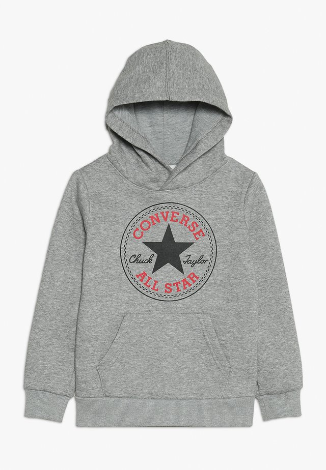 CHUCK PATCH HOODIE  - Bluza z kapturem - dark grey heather