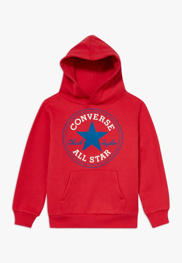 CHUCK PATCH HOODIE  - Hoodie - university red