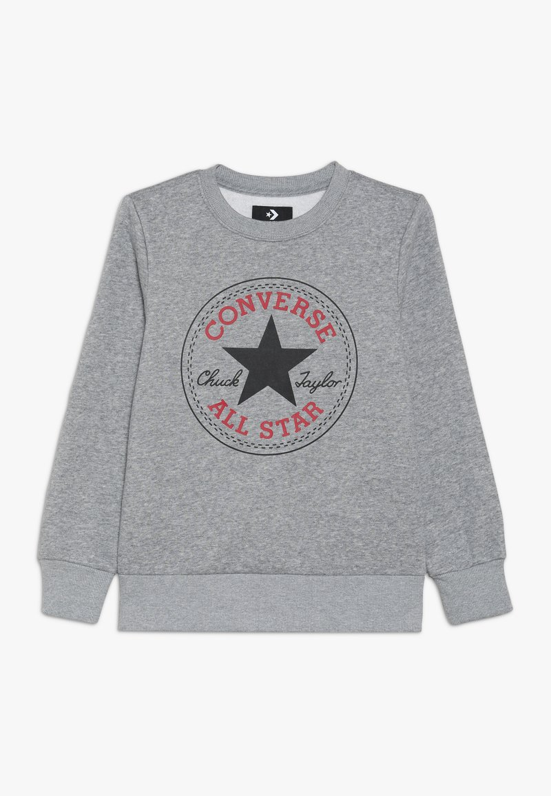 Converse - CHUCK PATCH CREW - Sweatshirt - dark grey heather