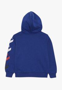 Converse - MULTI STAR CHEVRON FULL ZIP - Zip-up hoodie - blue - 1