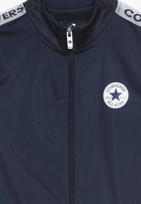 Converse - TRICOT TAPING TRACK JACKET - Training jacket - obsidian/wolf grey - 4