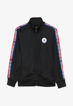 TRICOT TAPING TRACK JACKET - Giacca sportiva - black/blue