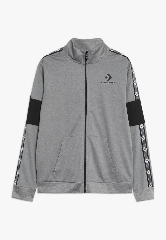 STAR CHEVRON COLORBLOCK TRACK JACKET - Training jacket - dark grey heather