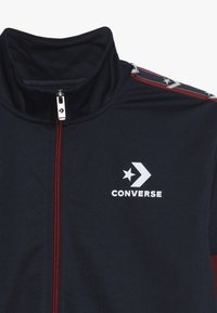 Converse - STAR CHEVRON COLORBLOCK TRACK JACKET - Sportovní bunda - obsidian - 4