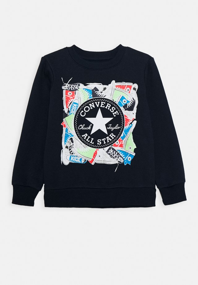 SNEAKER CHUCK PATCH CREW - Sweater - obsidian