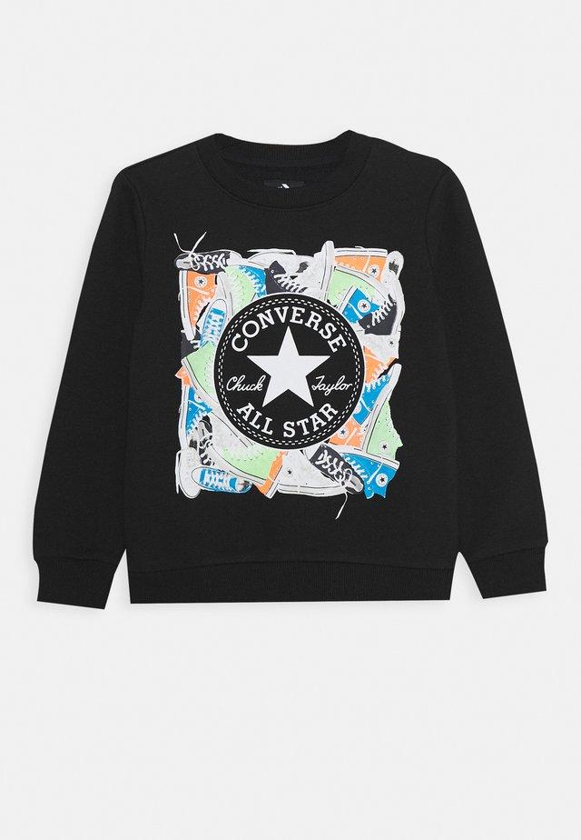 SNEAKER CHUCK PATCH CREW - Sweatshirt - black
