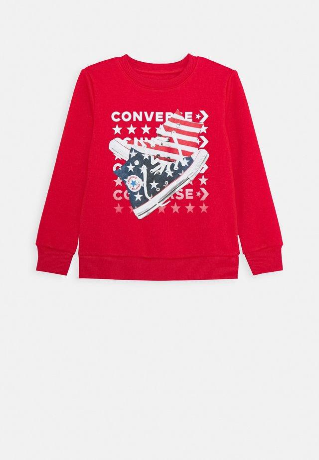 AMERICANA SHOES CREW - Sweater - university red