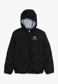 Converse - WORDMARK QUILTED JACKET - Veste d'hiver - black - 0