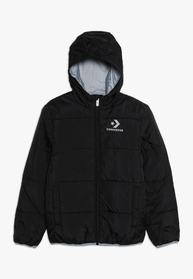 Converse - WORDMARK QUILTED JACKET - Veste d'hiver - black