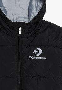 Converse - WORDMARK QUILTED JACKET - Zimní bunda - black - 4