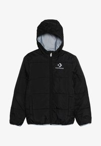 Converse - WORDMARK QUILTED JACKET - Zimní bunda - black - 3