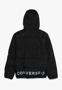 Converse - WORDMARK QUILTED JACKET - Veste d'hiver - black - 1