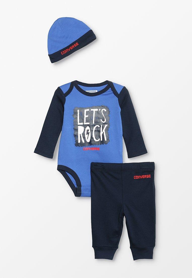 Converse - LET'S ROCK CREEPER BABY SET - Bonnet - blue