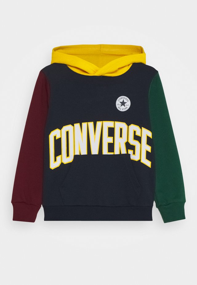 COLLEGIATE HOODIE UNISEX - Jersey con capucha - obsidian