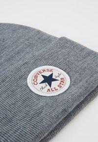 Converse - CHUCK PATCH TALL BEANIE - Gorro - vintage grey heathered - 5