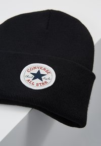 Converse - CHUCK PATCH TALL BEANIE - Gorro - black - 5