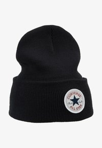 Converse - CHUCK PATCH TALL BEANIE - Gorro - black - 4