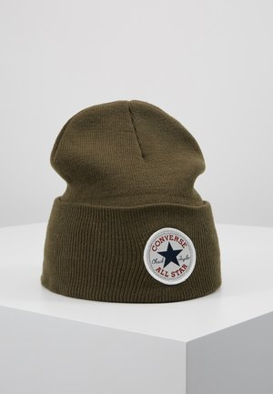 CHUCK PATCH TALL BEANIE - Pipo - field sorpus