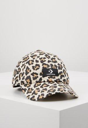 EVERGREEN PRINT BASEBALL - Cappellino - leopard