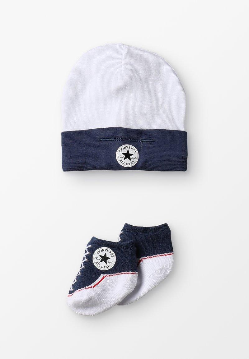 Converse - HAT & BOOTIE SET - Bonnet - navy