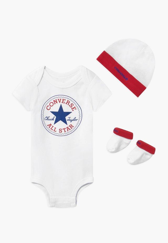 CLASSIC INFANT SET - Regalo per nascita - red/white