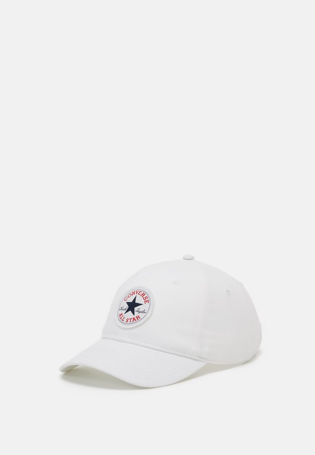 CHUCK PATCH CURVED BRIM  - Cap - white