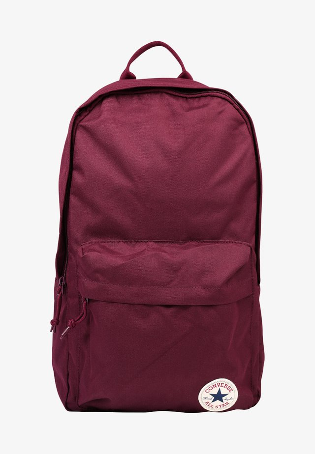 EDC POLY BACKPACK - Reppu - dark sangria