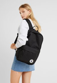 Converse - EDC POLY BACKPACK - Ryggsekk - black - 5
