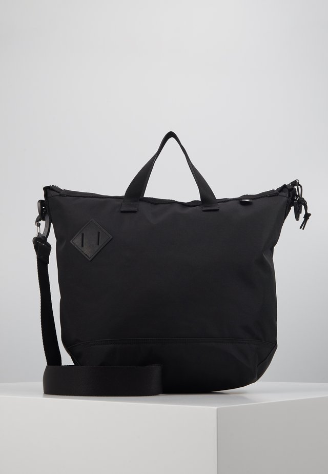 STREET TOTE - Shopping bag - black