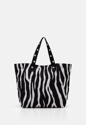 TOTE - Tote bag - zebra leopard/star