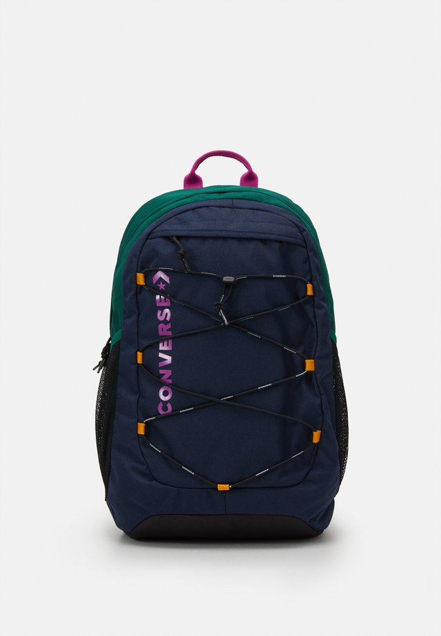 SWAP OUT BACKPACK UNISEX - Ryggsekk - obsidian/midnight clover/cactus