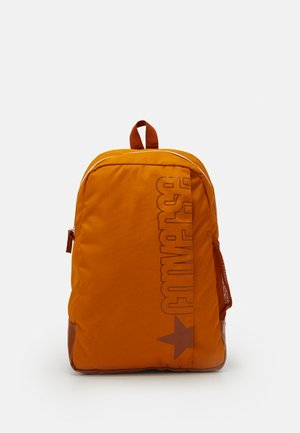 SPEED BACKPACK UNISEX - Tagesrucksack - saffron yellow/amber sepia