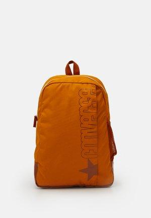 SPEED BACKPACK UNISEX - Rugzak - saffron yellow/amber sepia